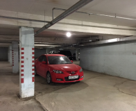 Подземный паркинг машиноместо.