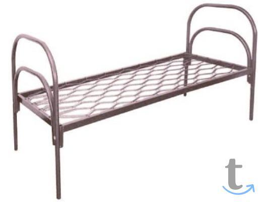 Прочные металлические кровати по...