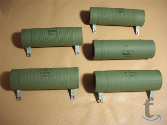 Проволочные резисторы  Резисторы С5-35В- 50Вт