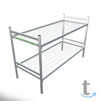 Кровати армейского типа, металлические