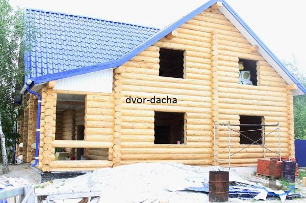 Строим дома, коттеджи, бани, кар...