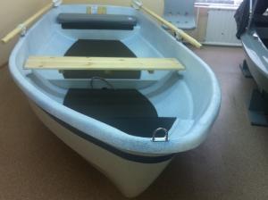 Моторно-гребная лодка Шарк-408