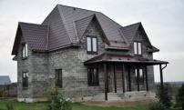 Строительство дома- под ключДом из арболита.