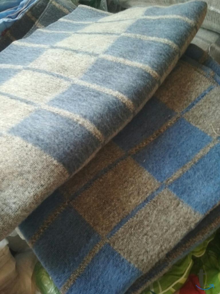 Одеяло 1,5 сп Полушерстяное