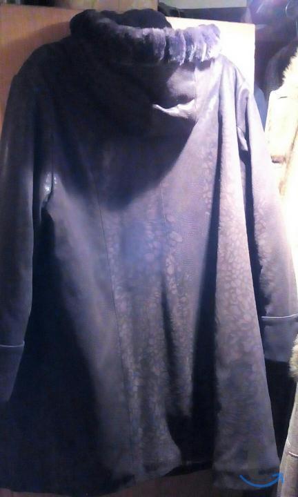Куртка женская 70 с норковой оторочкой