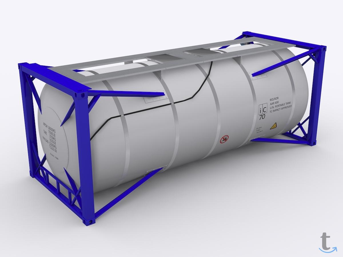 Танк-контейнер б/у