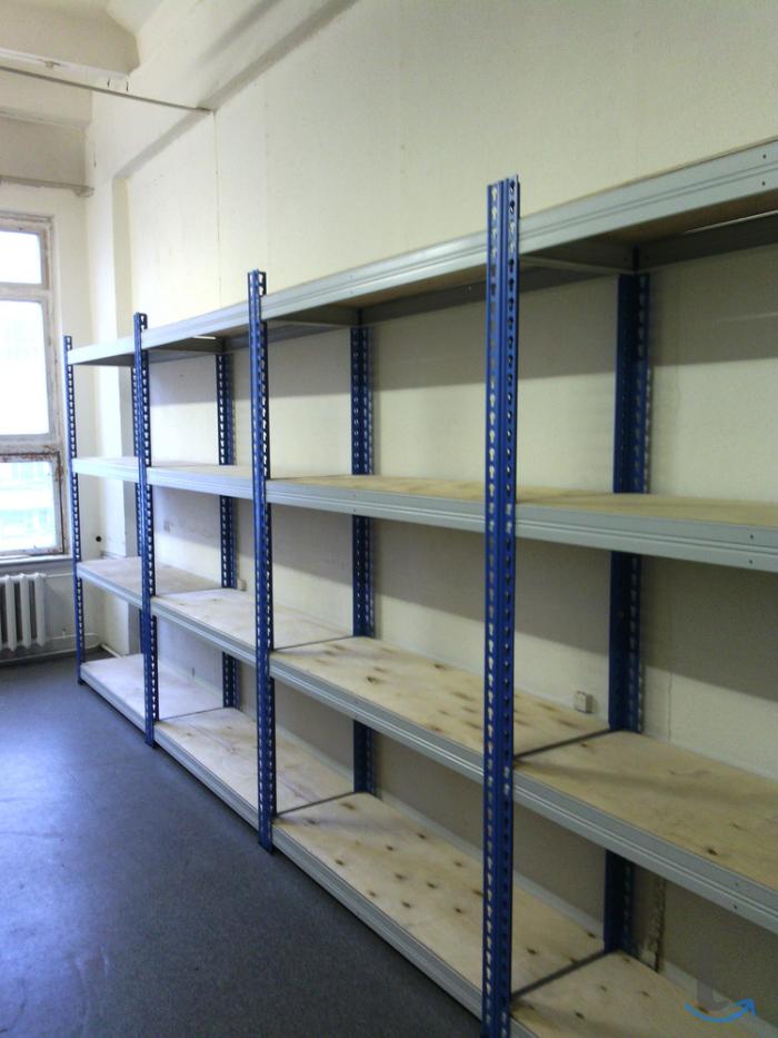Стеллаж для склада (300 кг на по...