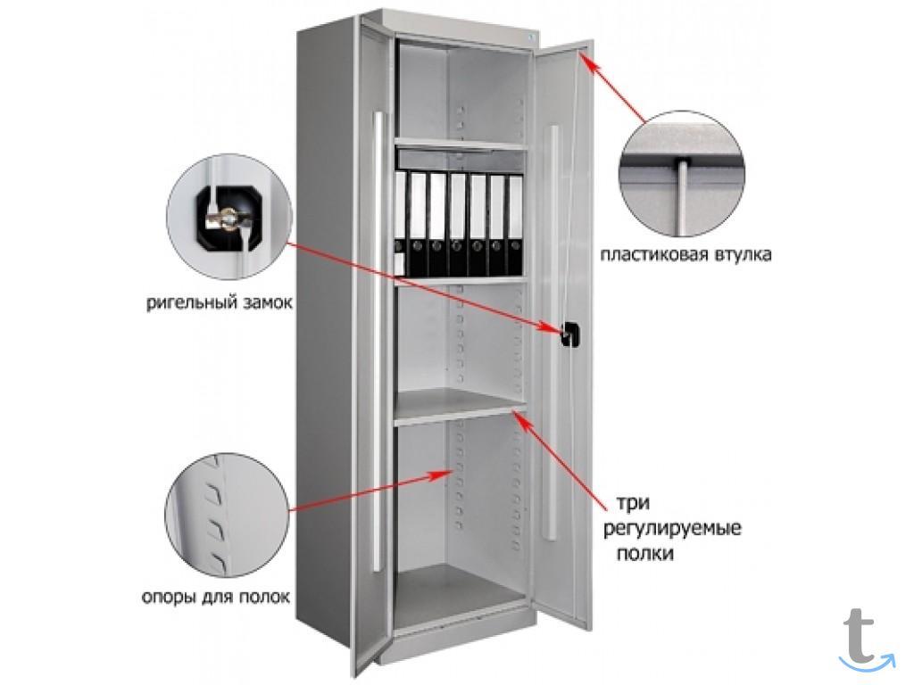 Шкаф металлический архивный