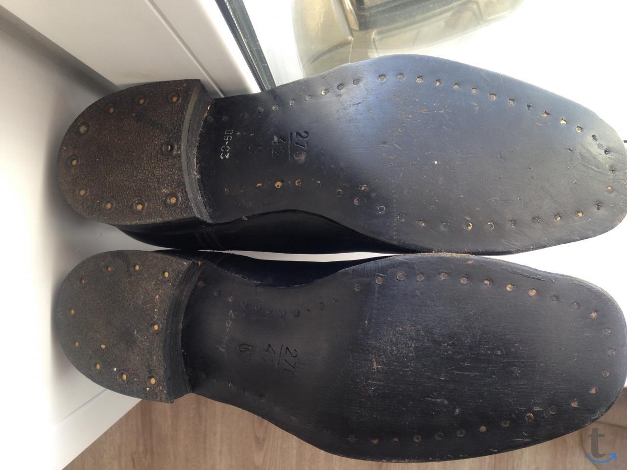 Сапоги ботинки хромовые размер 4...