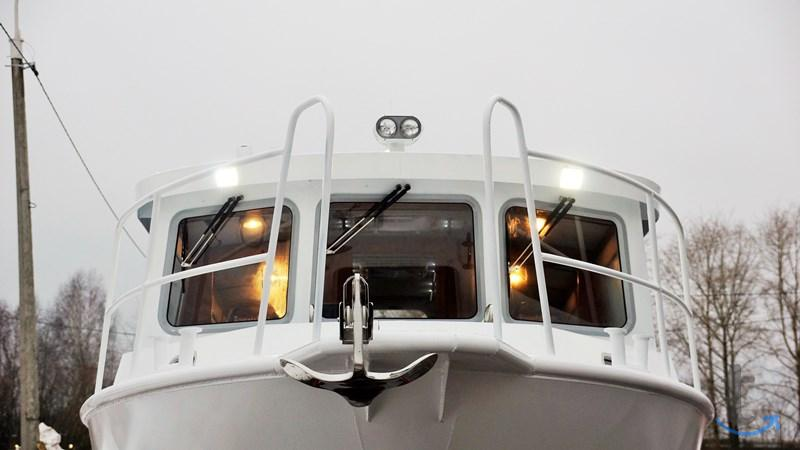 Водометный катер баренц 1100