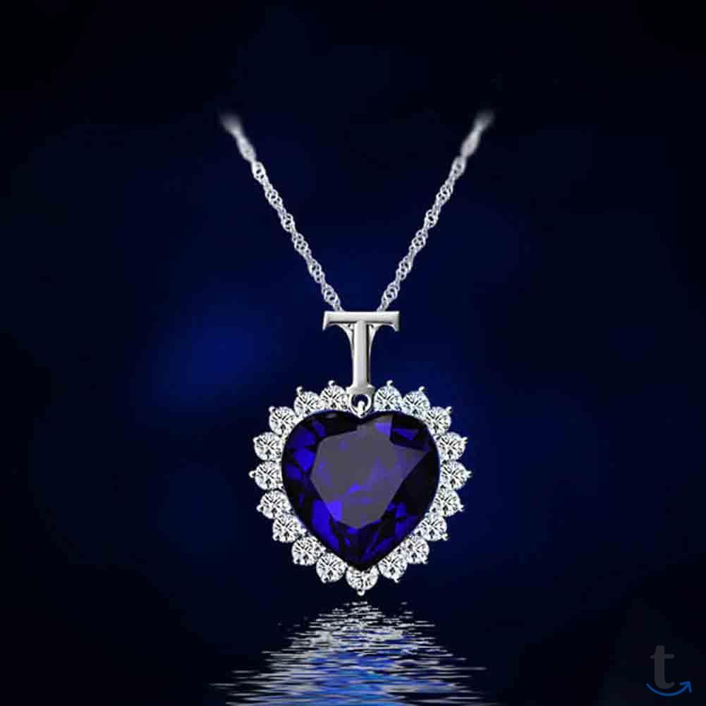 Ожерелье цепочка Сердце Океана