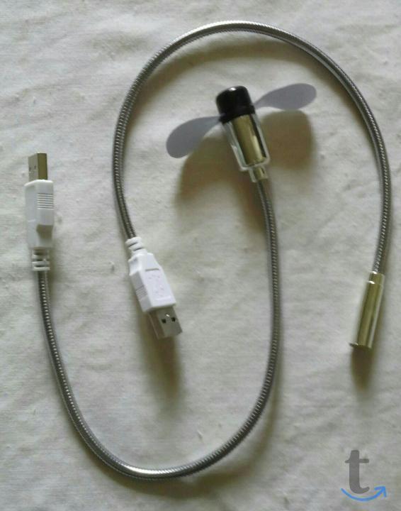 Лампа и вентилятор USB