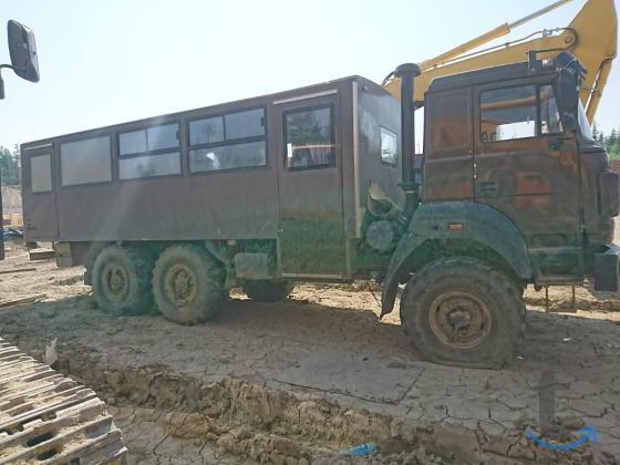 Вахтовый автобус 6х6 на шас...