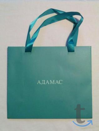 Пакет новый подарочный Адамас