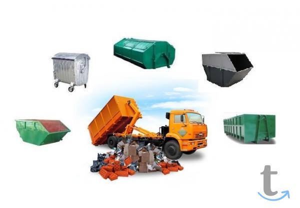Вывоз мусора и уборка участков