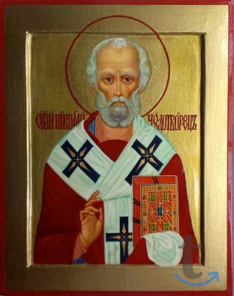 Икона Святой Николай Чудотв...