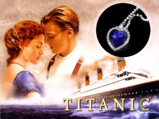 Кулон Сердце Океана из Титаника