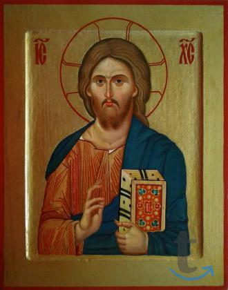 Икона Христос Пантократор. ...