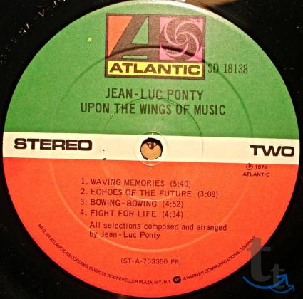 Jean-Luc Ponty – Upon The Wings Of Music