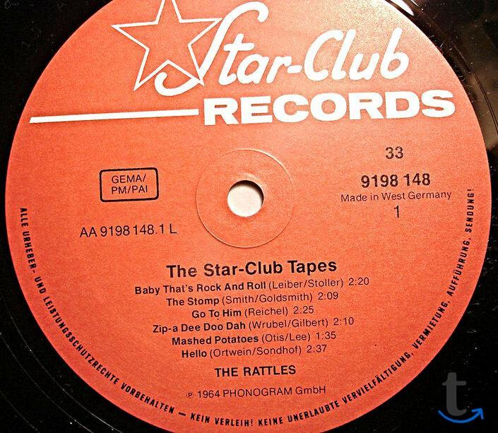 The Rattles – The Star-Club Tapes