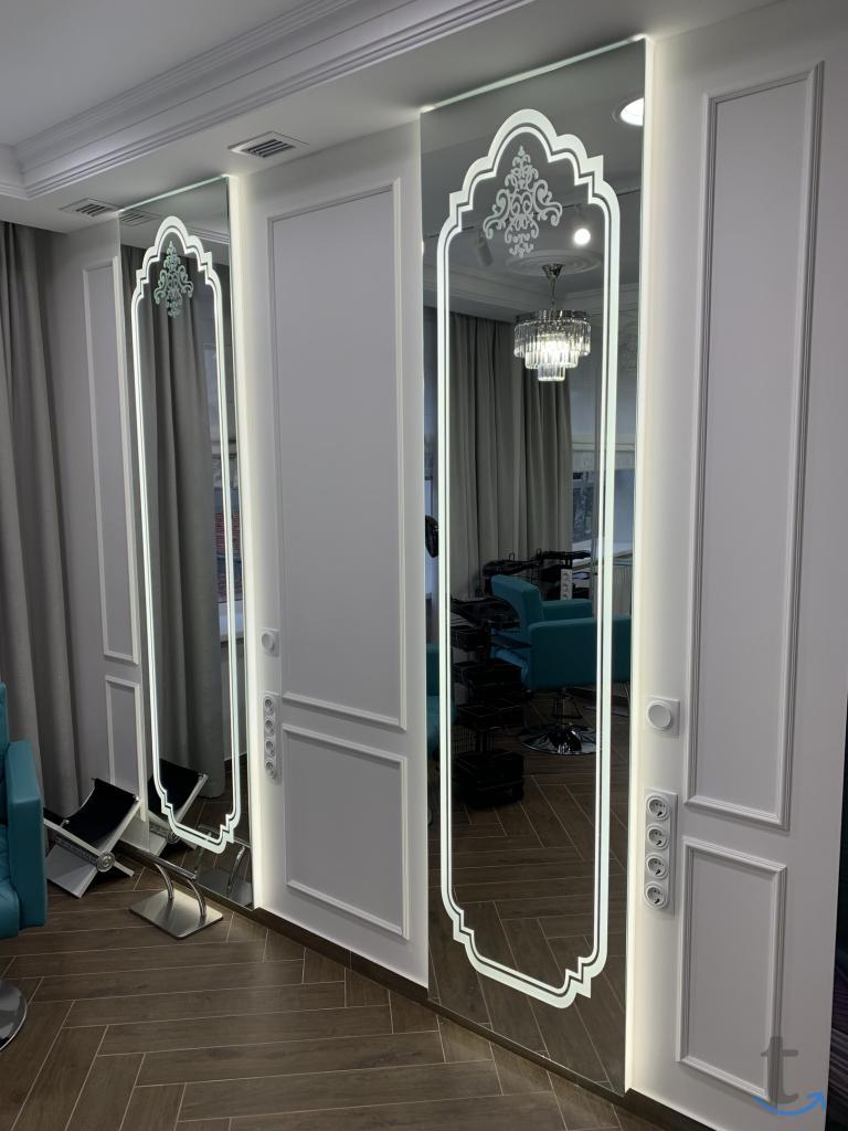 Зеркала под заказ. Нарезка зерка...