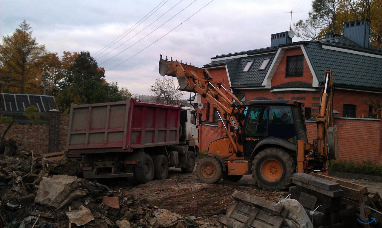Вывоз строительного мусора на св...