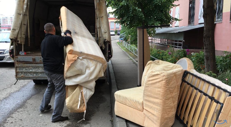 Вывоз старой мебели, быт.техники...