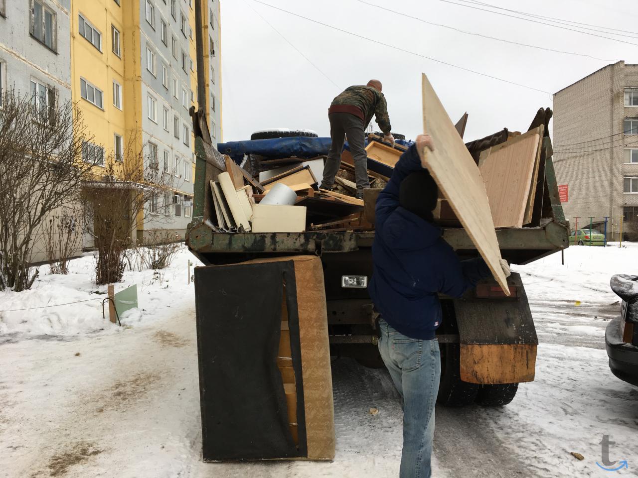 Вывоз старой мебели, бытовой тех...