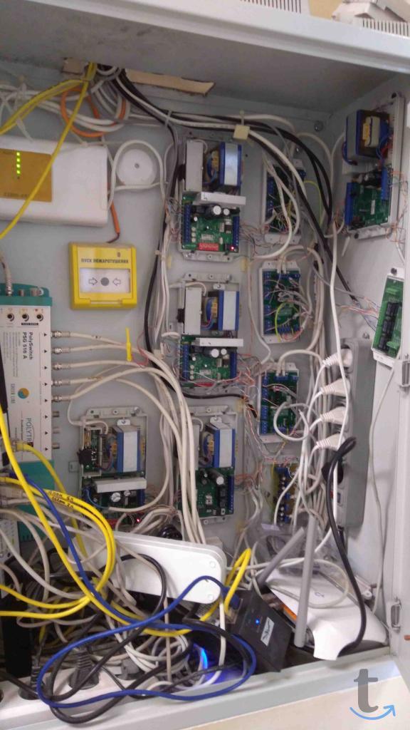 обслуживание сетей, АТС, видеона...