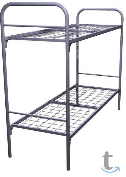 Кровати металлические для учебны...