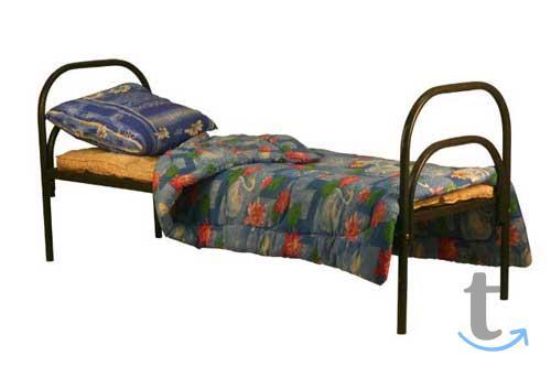 Бюджетные кровати металлические ...