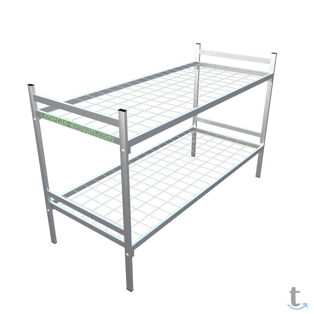 Металлические кровати от производителя для лагеря
