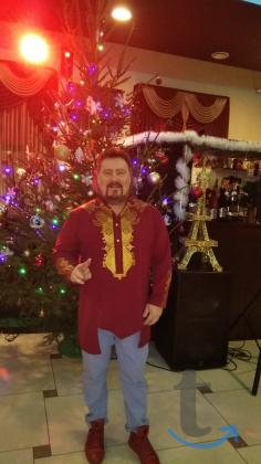 Ведущий певец ди-джей на праздник