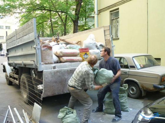 Вывоз строймусора, грунта, хлама и т.п.– ТК «РазГруз»