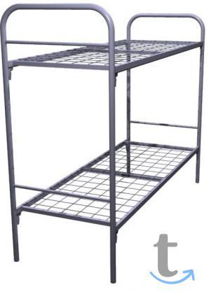 Долговечные кровати металлические для санатория