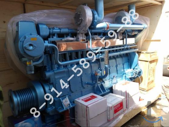 Судовой дизель Weichai X8170ZC для речных и морских с