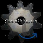 Шарошка (звездочка) 40х1,5х10 мм