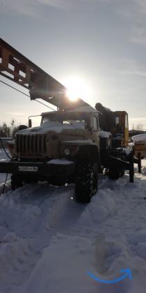 Бурильно-сваебойная машина БМ-811 Урал