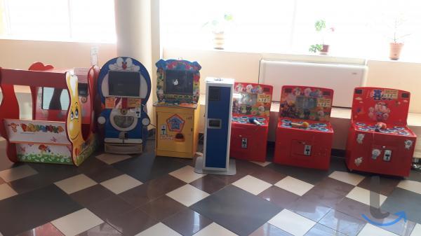 Детские игровые аппараты (автоматы)