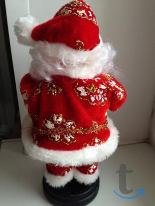 Дед Мороз Санта Клаус музыкальный игрушка