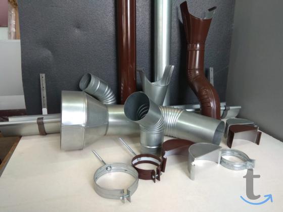 Качественные металлические водостоки собственного производства