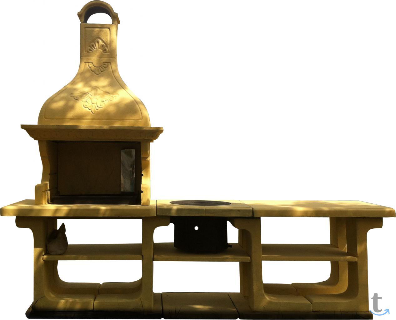 Печь-Барбекю комплекс