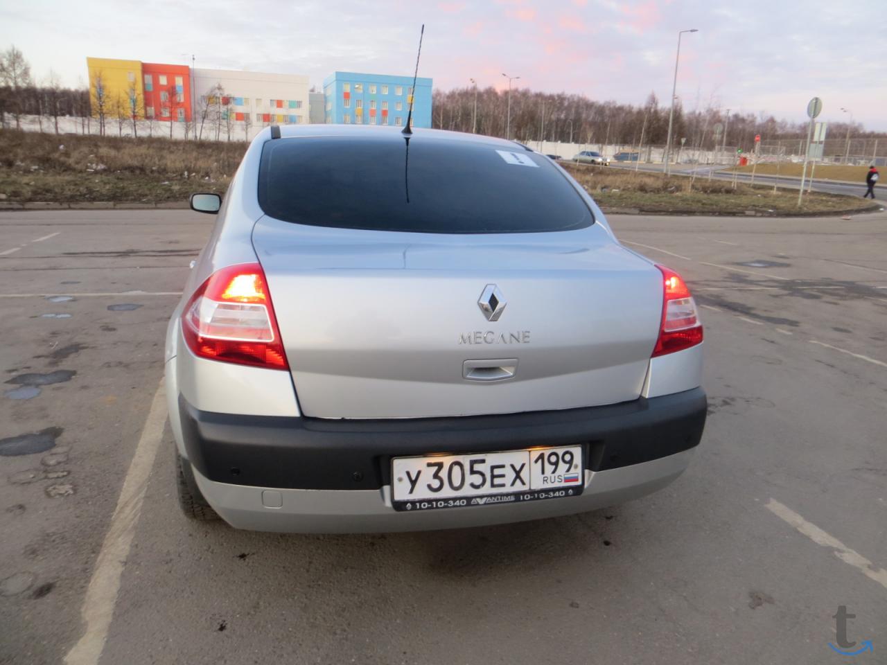 автомобиль Рено Меган