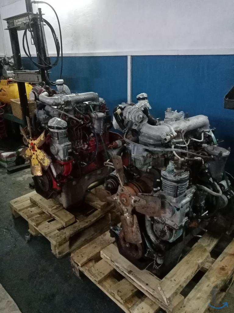 Двигатель дизельный Д 245 на Зил...