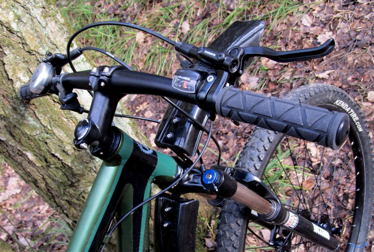 Трейл велосипед  сборка