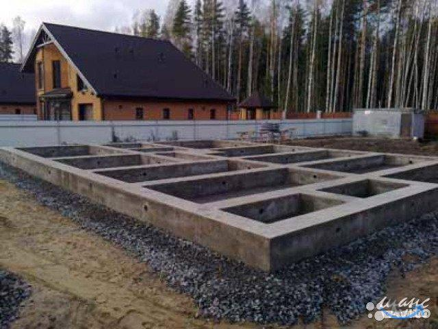 Бетонные работы, строительство фундаментов под ключ