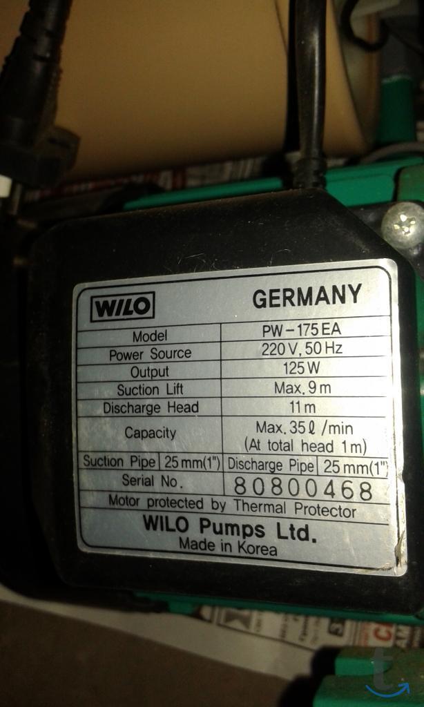 насосная станция WILO-PW