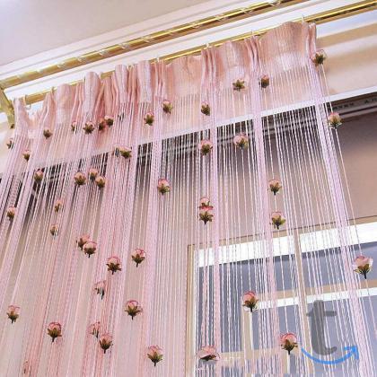Нитяные шторы(кисея)
