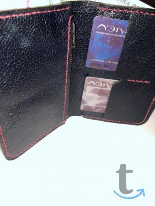 Мужское портмоне из натуральной ...