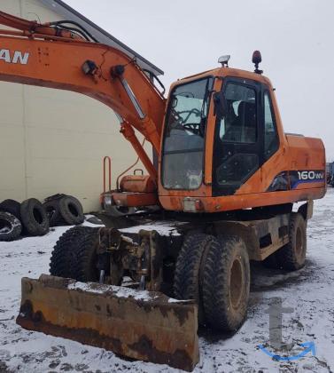 Продам колесный экскаватор Doosan sollar 160W-V